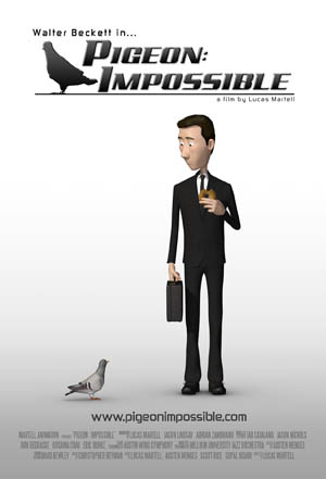 Five Years for Six Minutes: Pigeon Impossible
