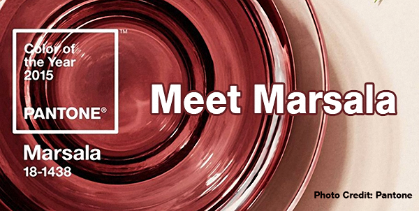 Meet Marsala: Pantone's Color of the Year