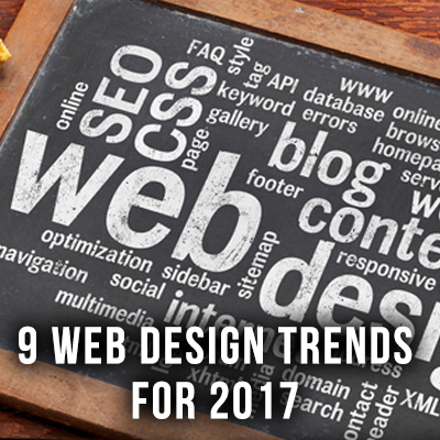 9 Web Design Trends for 2017